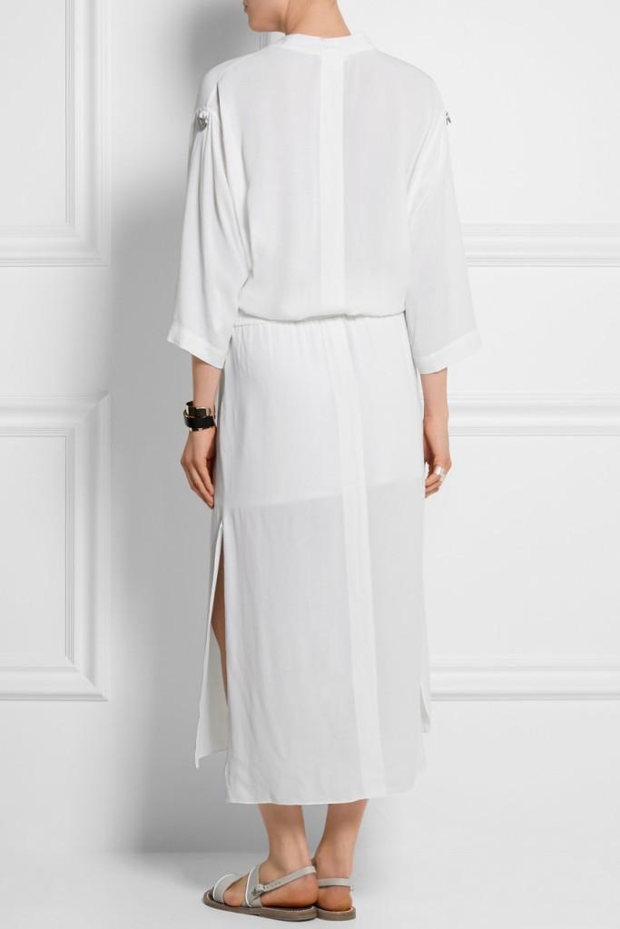 HELMUT LANG crepe dress 2