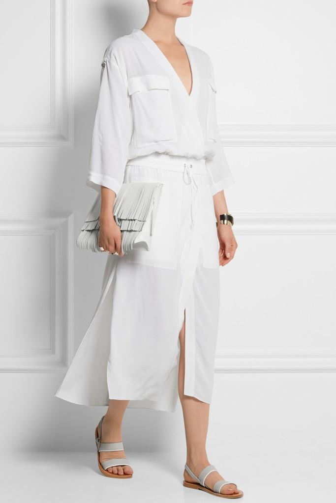 HELMUT LANG crepe dress 3